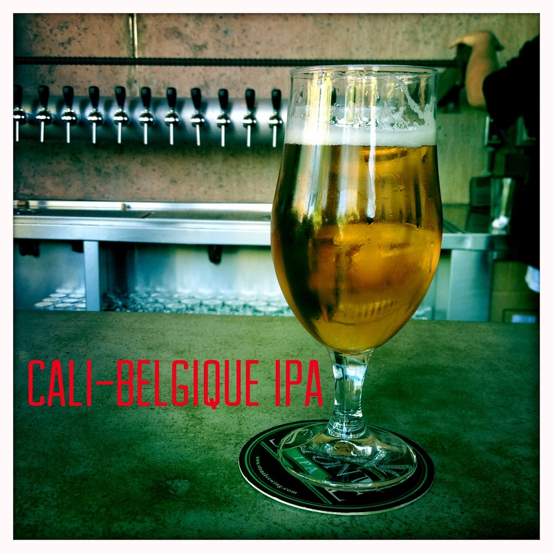 Cali-Belgique IPA and taps