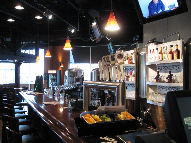Nebraska Brewing Company - View of Bar