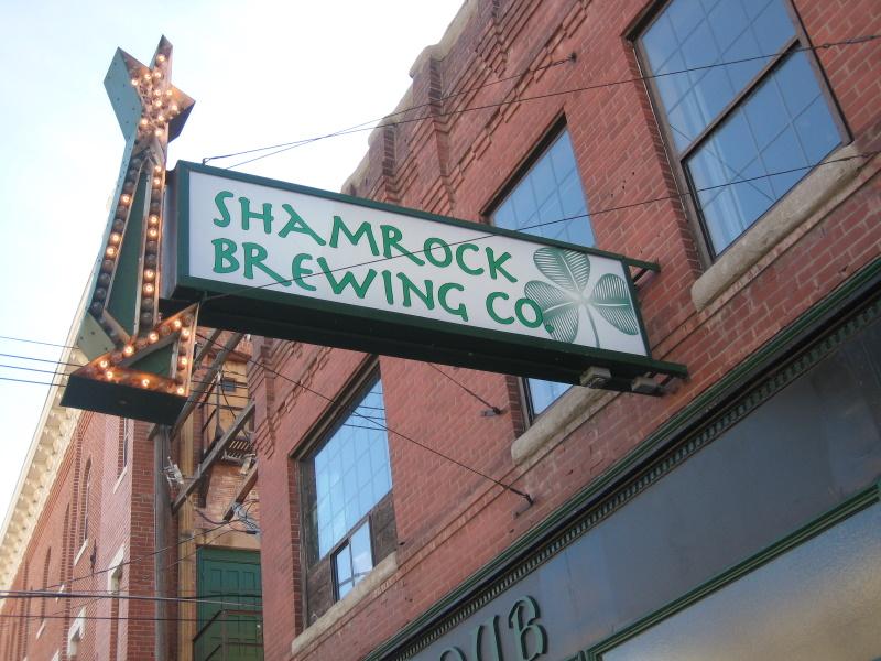 Shamrock sign