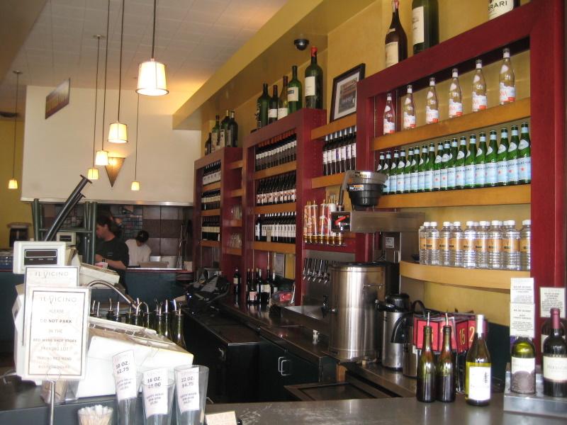 Bar looking toward Oven area