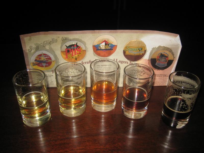 Sampler, classic 5 beers