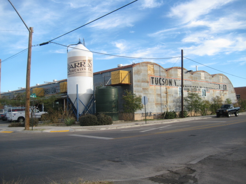 Brewery is located in an industral area