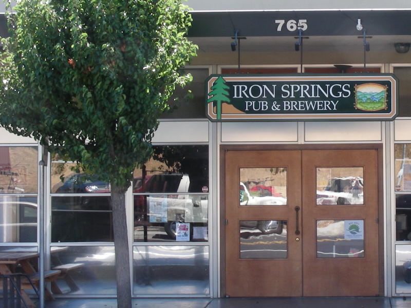 Iron Springs entry
