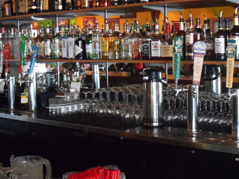Most of the taps