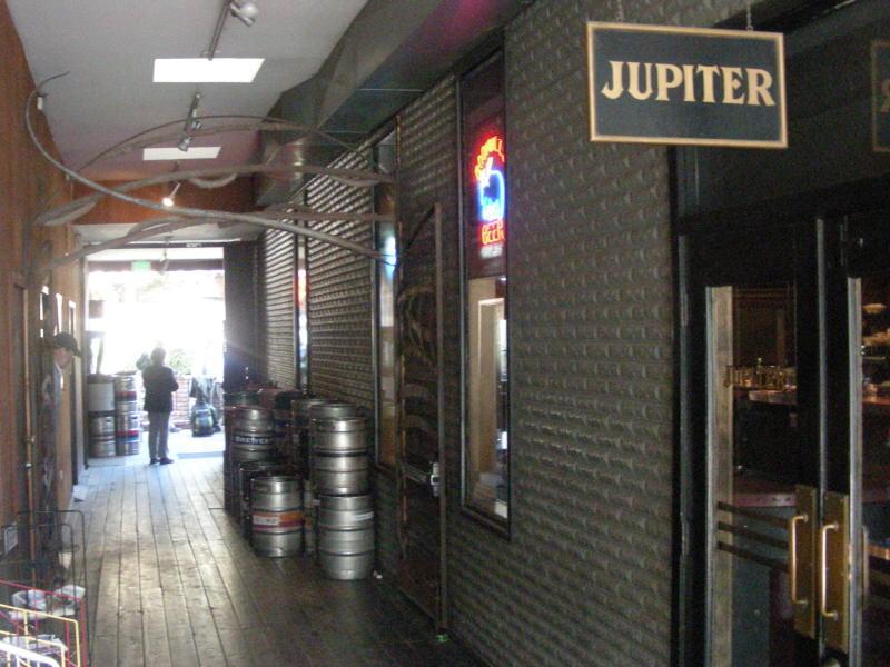Jupiter entry walkway