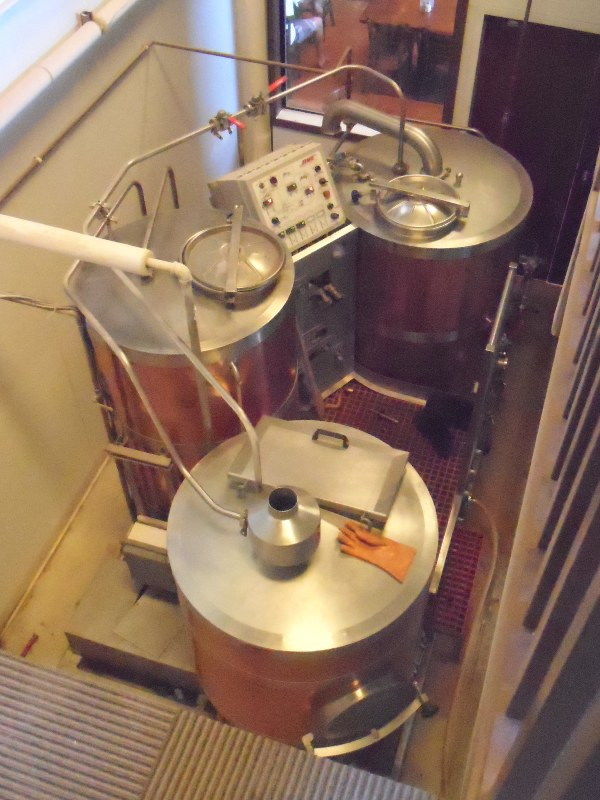 Brew room from loft