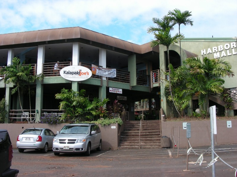 Joe's Lihue from parking