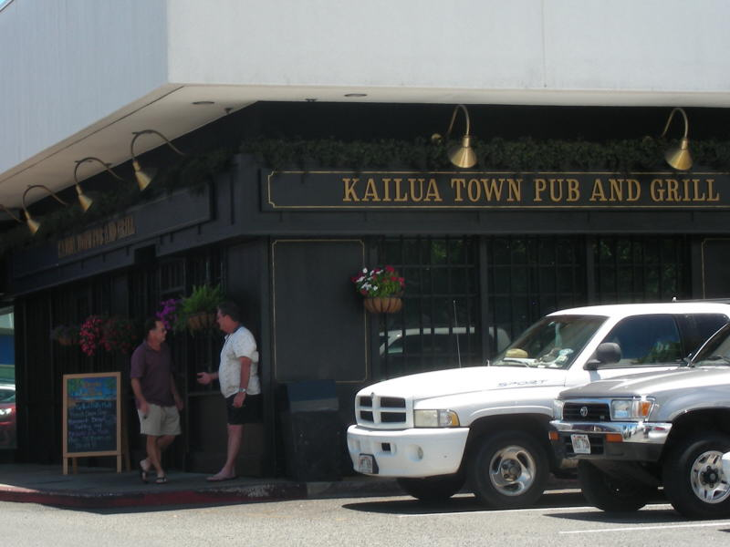 Kailua Town Pub entry