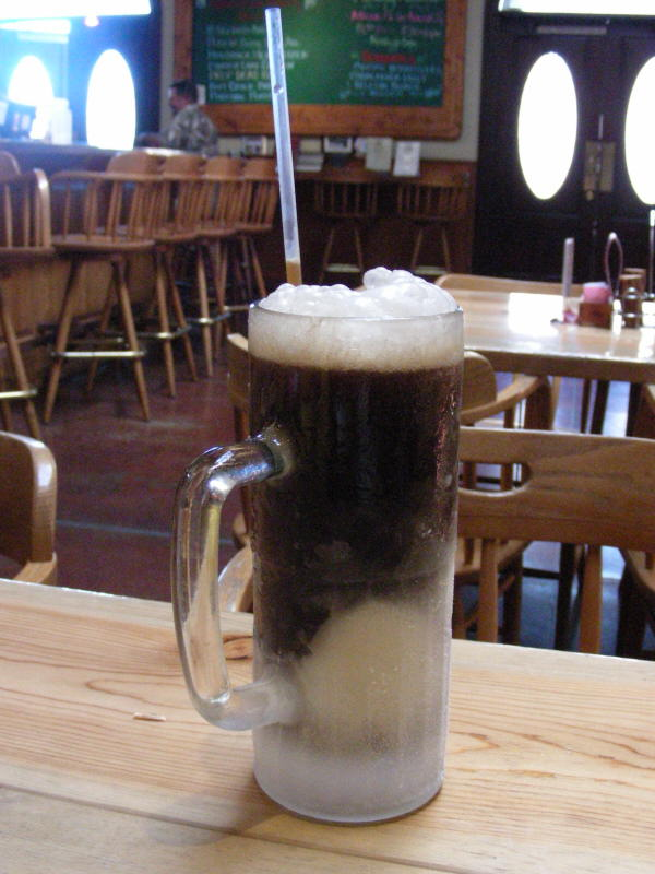 Stout Float - or maybe house made rootbeer