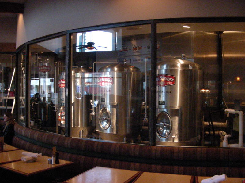 Brewroom from restaurant