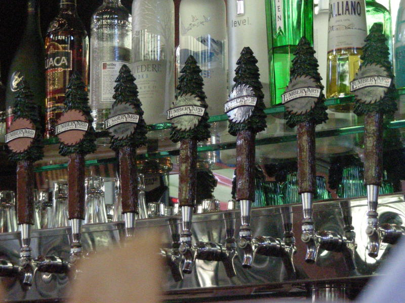Forest of taps