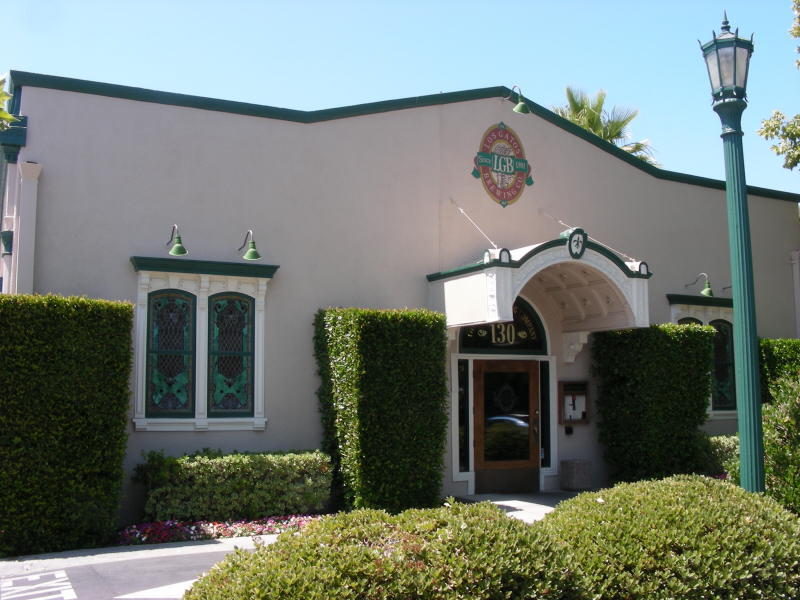 Los Gatos front entry (in back)