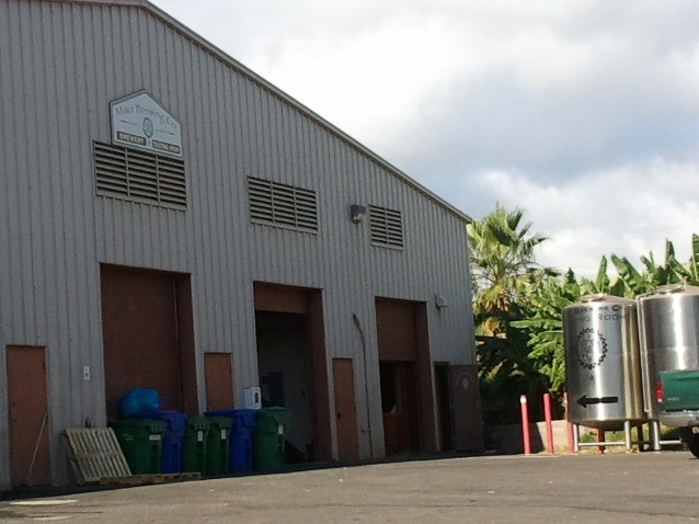 Maui Brewery entry