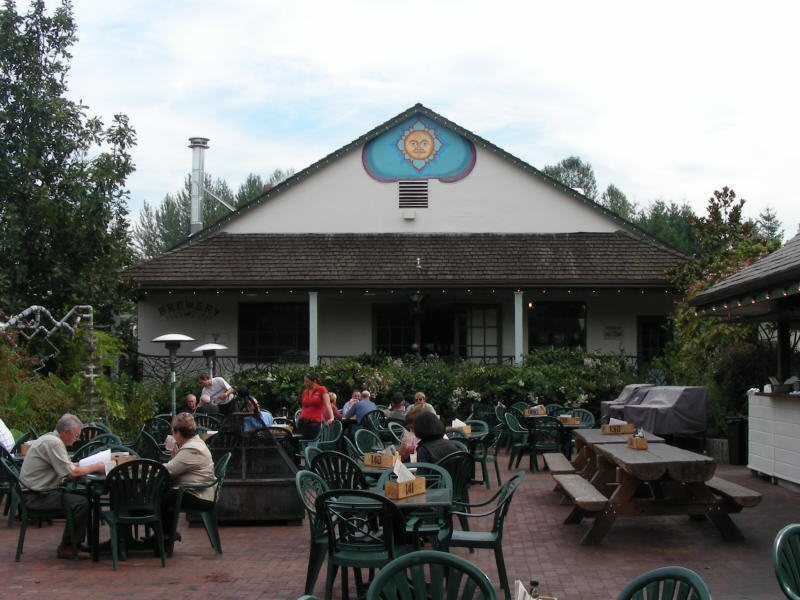 Edgefield Brewery from Loading Dock Grill
