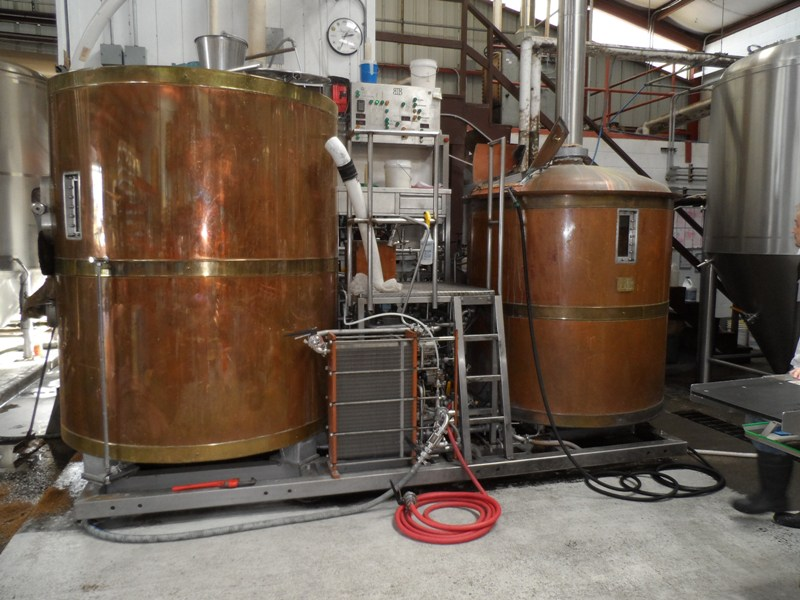 Brew Kettle and Mash Tun