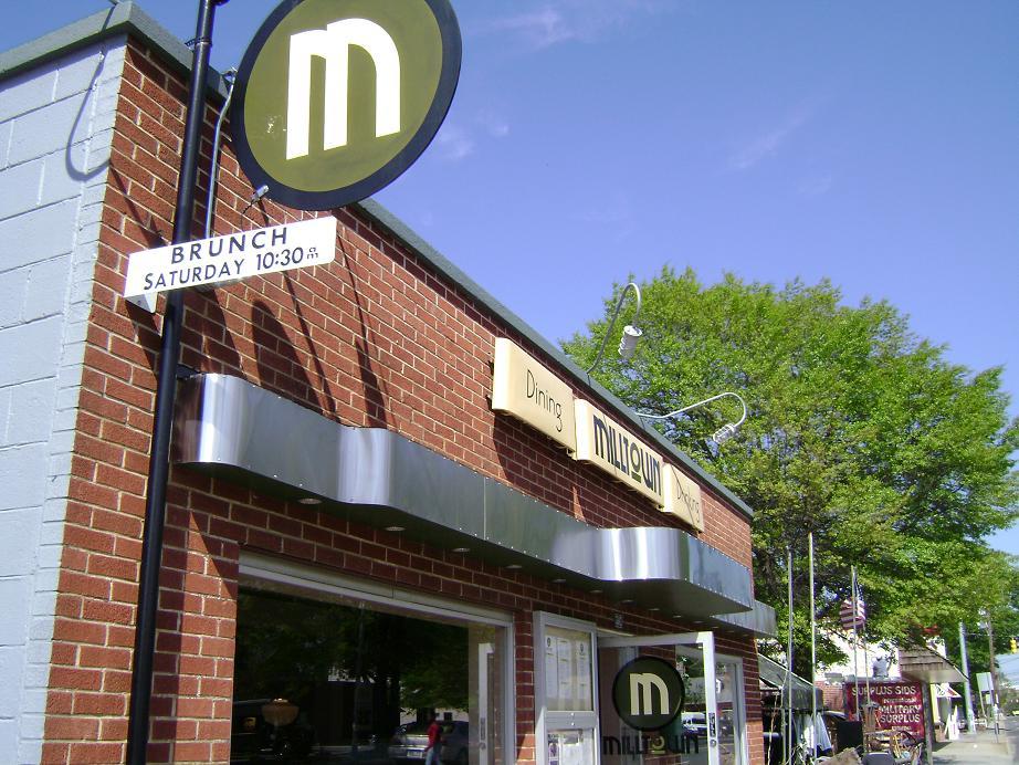 Milltown Signage