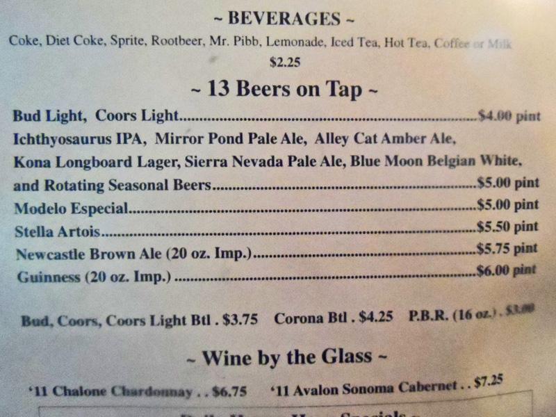 Brew List 0613