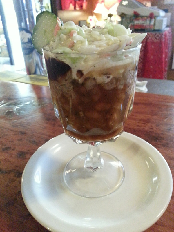 BBQ sundae