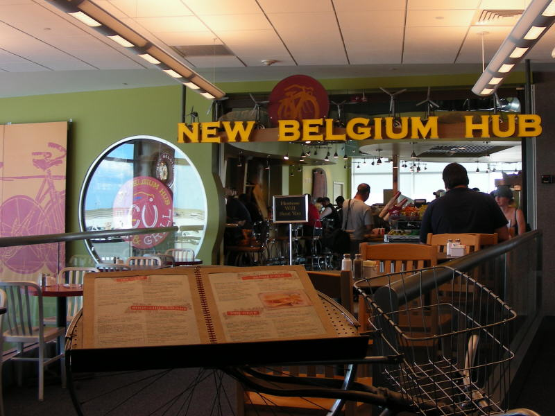 New Belgium Hub entry
