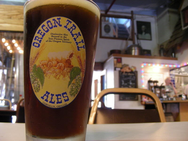 Brown Ale with brew room in back