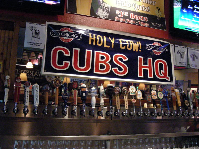Taps & Cubs banners