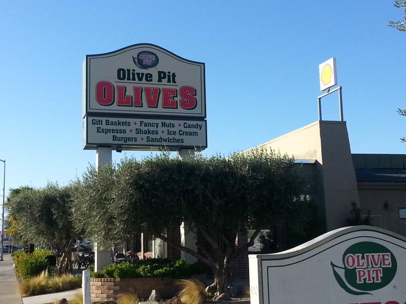 Olive Pit entry