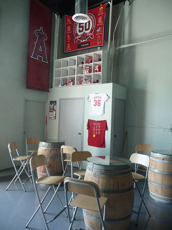 Additional seating in the bar area