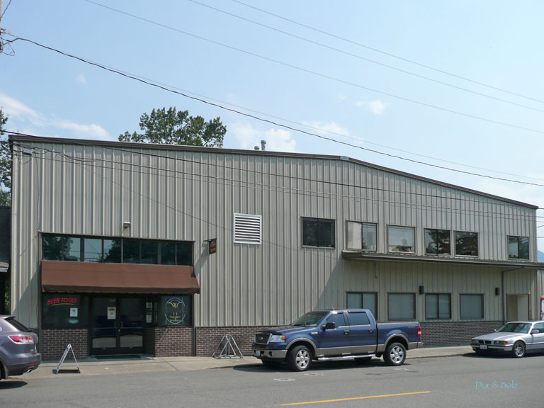 The building and main entrance seen from across the street
