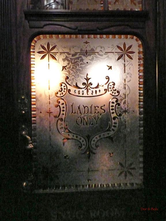 """The door to the old """"ladies"""" bar"""