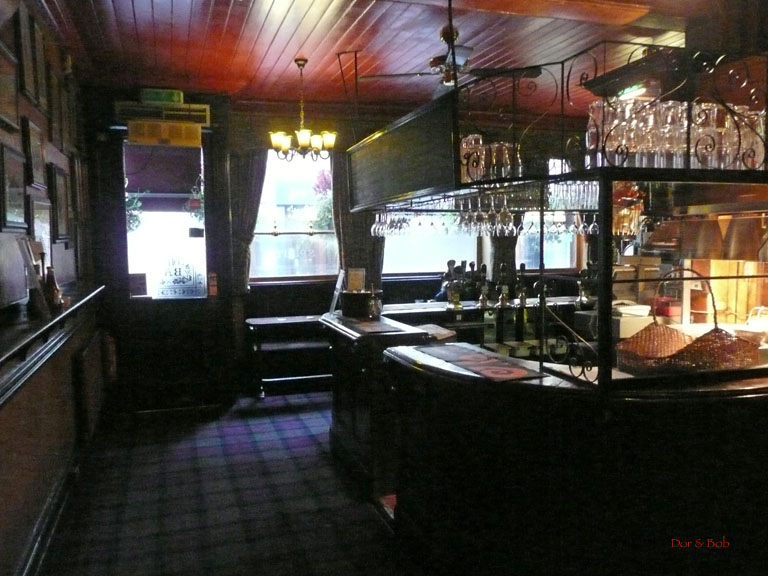 The front room