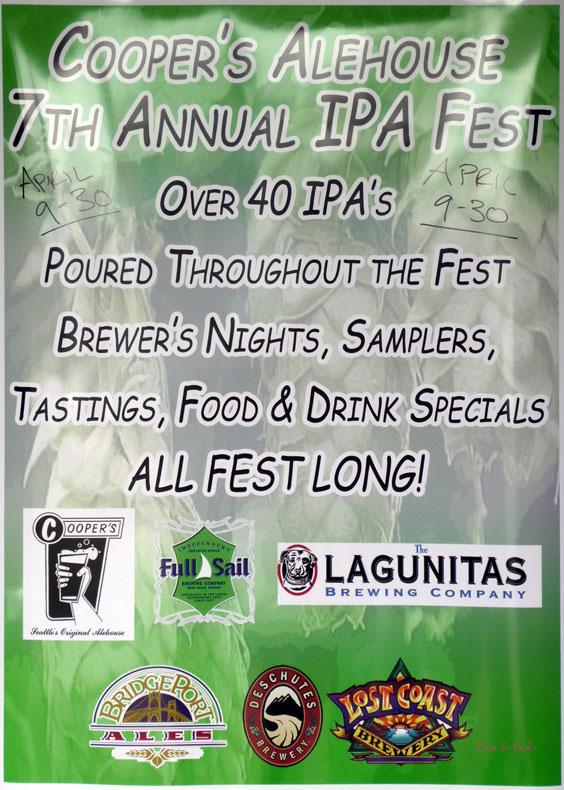 Poster for 2009 IPA Festival