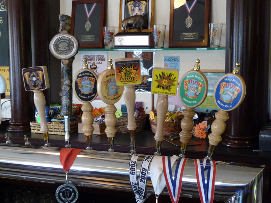The tap handles on 6/3/09