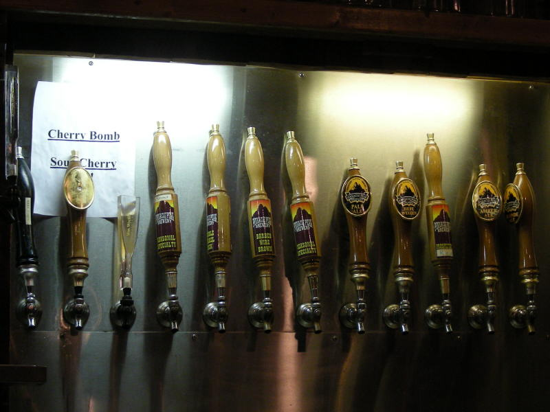 Pinnacle Peak taps