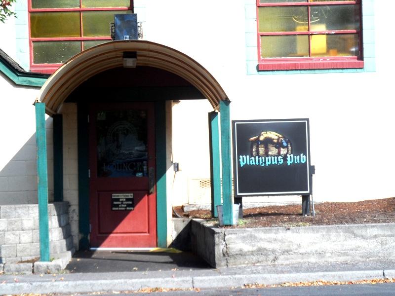 Platypus Pub entry