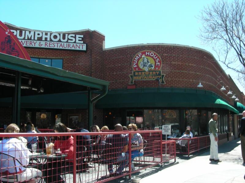Pumphouse entry