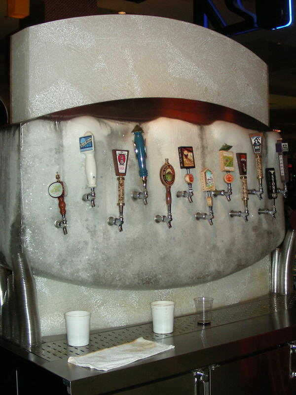 One side of tap wall