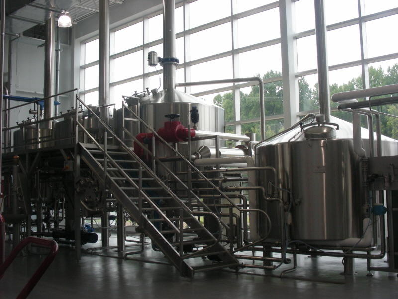 Brew Room thru glass