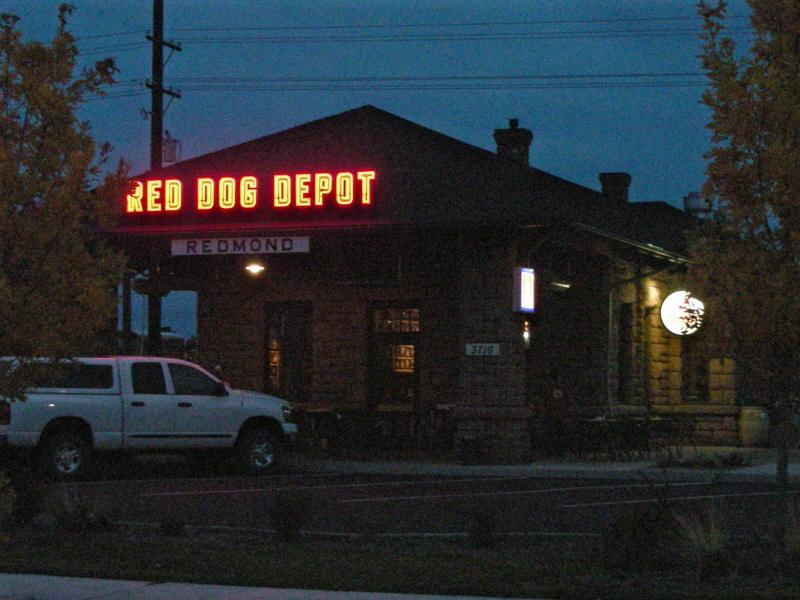 Night at the depot