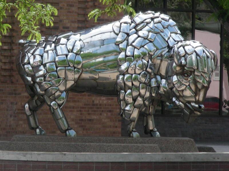Buffalo street art nearby