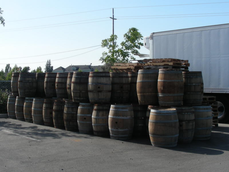 Aging barrels in waiting
