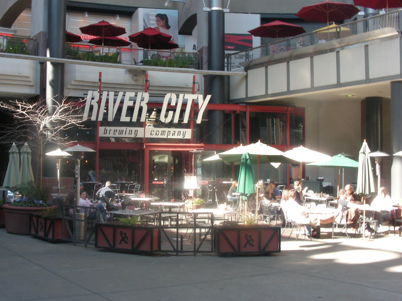 River City entry inside the mall