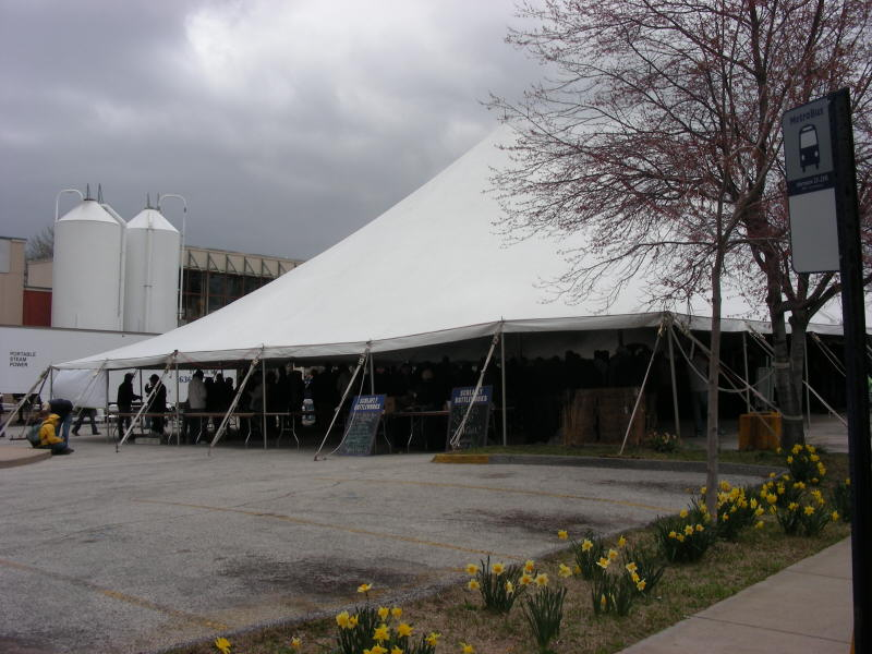 Repeal tent tasting