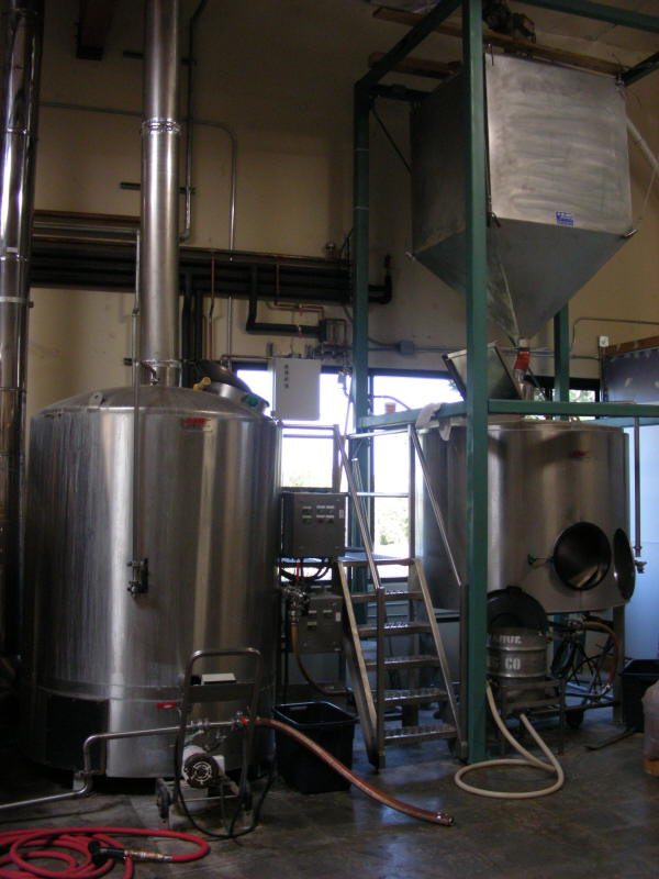 Brew equipment (from Hoptown)