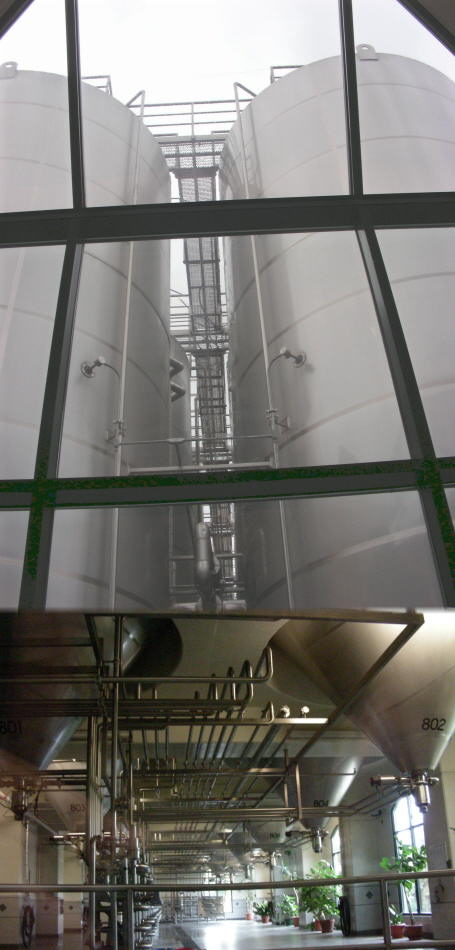 Composite of large fermenters