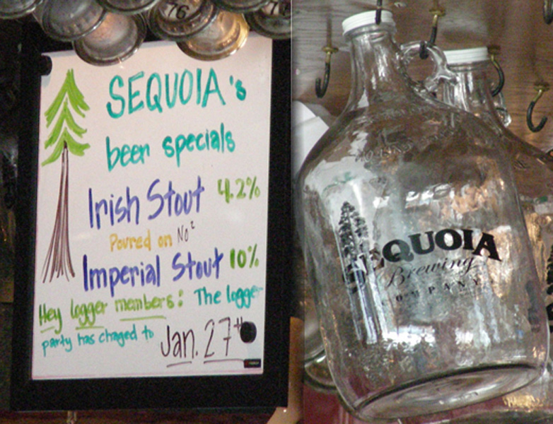 Special taps and Gallon Growler
