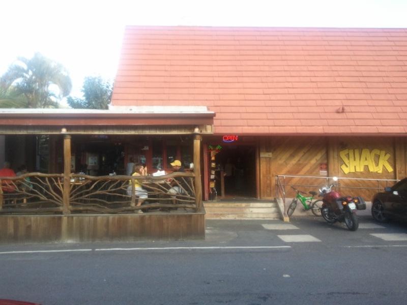 Shack Kailua entry