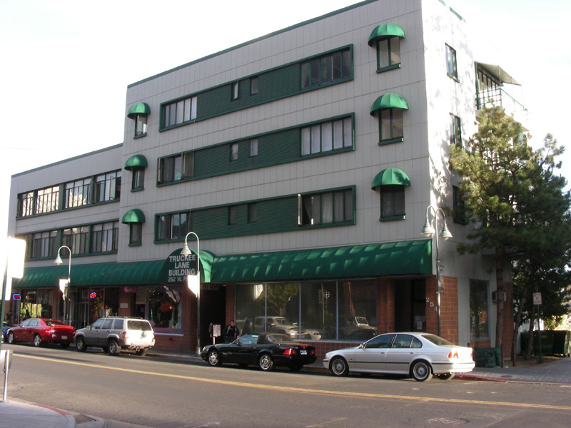 Sierra's bldg from the street