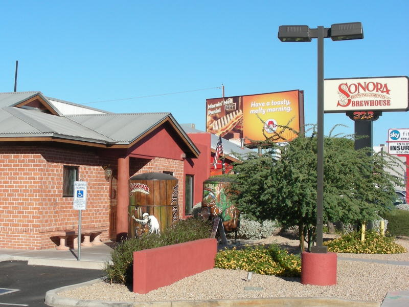 Sonora Brewhouse entry