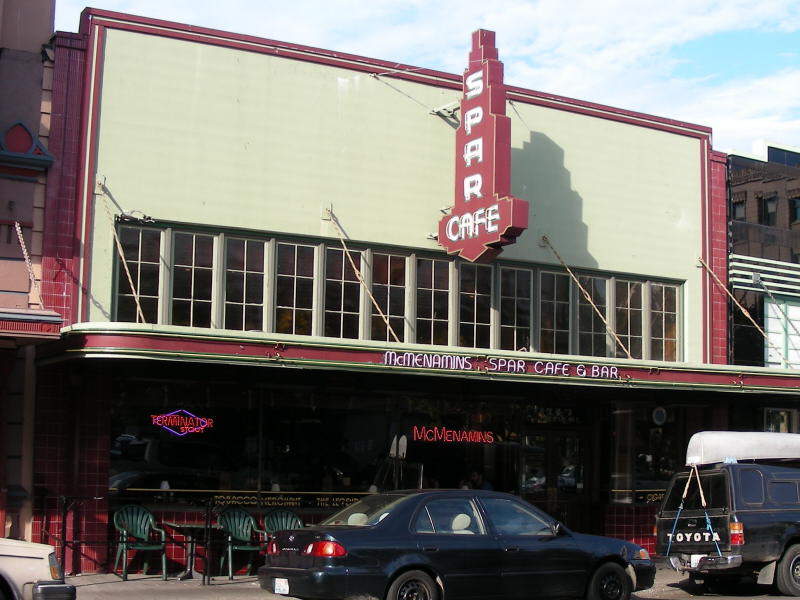 McMen's Spar Cafe entry