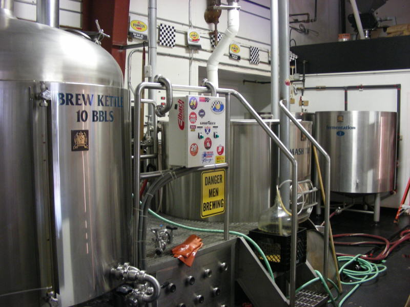 More of the brew room